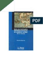 BOERSNER Demetrio, Relaciones internacionales de América Latina