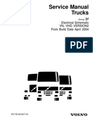 Volvo 2004 Wiring Diagrams | Truck | Transmission (Mechanics) | Volvo 780 Wiring Diagram |  | Scribd