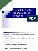 Unidad III. Análisis dinámico de los procesos (presentacion)