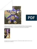 Aipom Pokemon Crochet Pattern