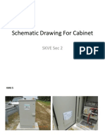 Schematic Drawing for Cabinet