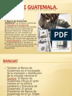 PRESENTACIÓN DEL BANCO DE GUATEMALA