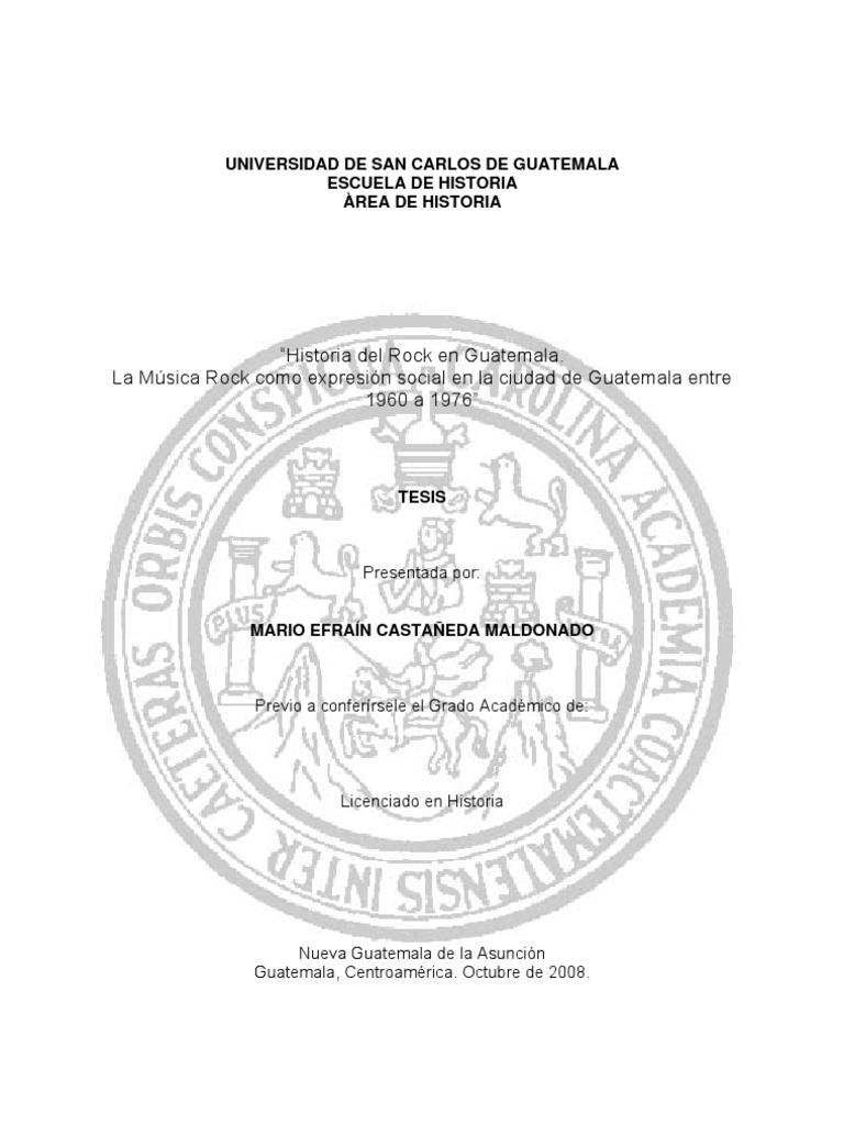 Tes is Historia Del Rocken Guatemala d2d7d7392f4dd
