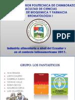 Expo-Industria Alimentaria en El Ecuador 2011 y Contexto Latinoamerica