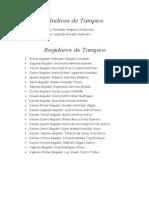 Síndicos y regidores de Tampico y Madero, Directores de Altamira