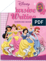 Disney Princess Cursive Writing