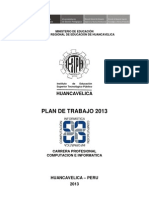 Plan de Trabajo Ci Iestph 2013