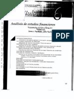 Análisis de estados financieros. Van Horne pdf