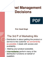 MPS -Channel Management Decisions