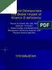 Osteoporosis Vitamin d Deficiency Nahrain Al Zubaidi Md
