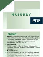 Masonry 1