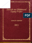 Hildebrand Project Annual Report 2011