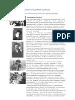 Una breve biografía de Jean Piaget