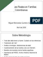 LosEntronquesRealesenFamiliasColombianasporMiguelW.quintero