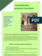 Estudio Sacrosantum Concilium Liturgia