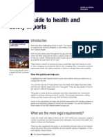 Guide to Health Adn Safety in Ports