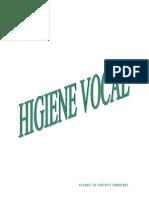 Higiene Vocal Nieto-cordero