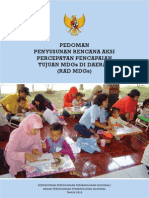 Ped Pencapaian RAD MDGs