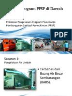 Sasaran Program Percepatan Pembangunan Sanitasi Permukiman (PPSP) Di Daerah