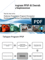Tahapan Implementasi pada Program  Percepatan Pembangunan Sanitasi Permukiman (PPSP)