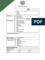 Formulario de Categorizacion Ambiental GPG