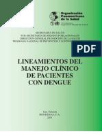 Lineamientos Dengue 2011 IV Unah