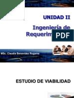 Unidad II-gestion de Requerimientos - Viabilidad 2012