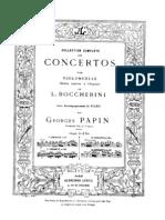 Boccherini Cello Concerto G481 Papin Cello Piano