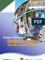 Panduan Pelaksanaan Kebijakan Nasional Air Minum Dan Penyehatan Lingkungan Berbasis Masyarakat Di Daerah