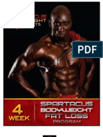 Spartacus Bodyweight Workout for Fat Loss E-Book-Funk Roberts
