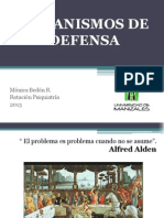 Mecanismos de Defensa