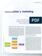 Matematicas y Marketing