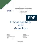 Consolas de Audio