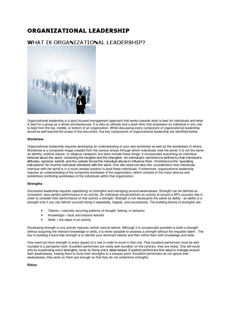 organizational leadership   leadership & mentoring   leadership