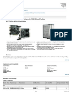 NI Datasheet CAN devices