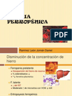 Anémia ferropénica