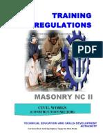 Tr- Masonry Nc II