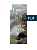 7.1 the Culture of Life and the Penalty of Death