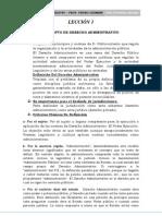Derecho Administrativo Completo