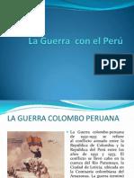 La Guerra  con el Perú
