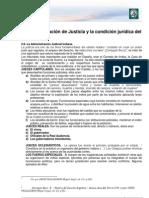 Lectura 6. La Administración de Justicia y la condición Jurídica del indígena-