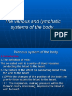 2008 Venous and Lymphatic Systems