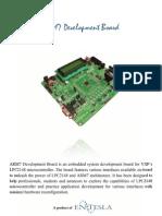 ARM7 Development Board Brochure