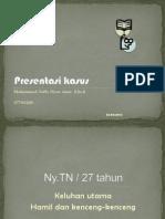 Present as i