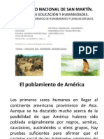 Ing. Civil - Historia y Geograf. Amaz. Origen Del Hombre Americano.1.