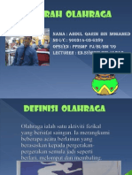 DEFINISI OLAHRAGA