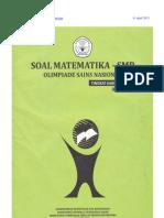 Soal Osn Matematika Smp 2012