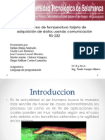 Presentacion Tarjeta Datos