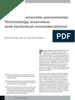 Precast Concrete Pavements
