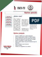 Programa de Gobierno FACU-FU 2013-2014